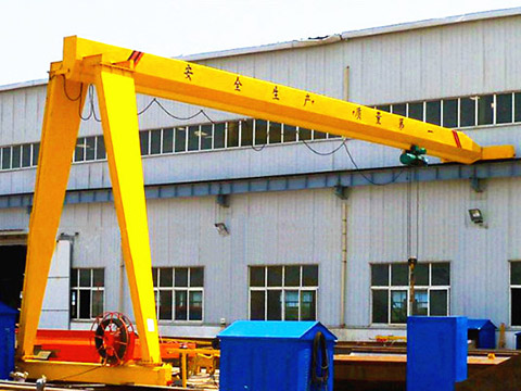 semi gantry crane sales