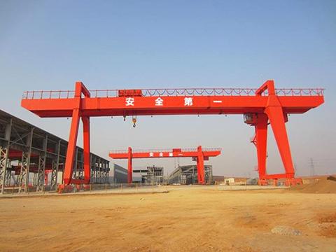 20 ton electric double girder gantry crane for sale