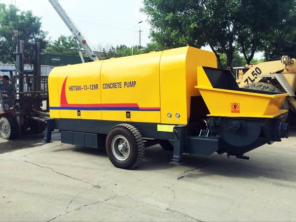 HBT80R concrete pump