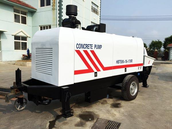HBTS90R concrete pump