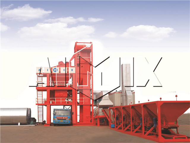 Stationary Asphalt Mixing Plant China