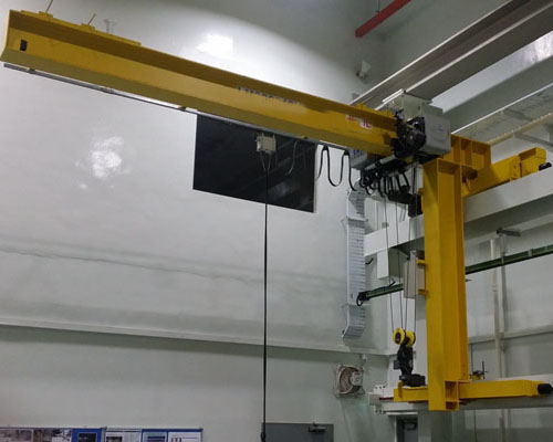Wall Traveling Jib Crane With High Quality